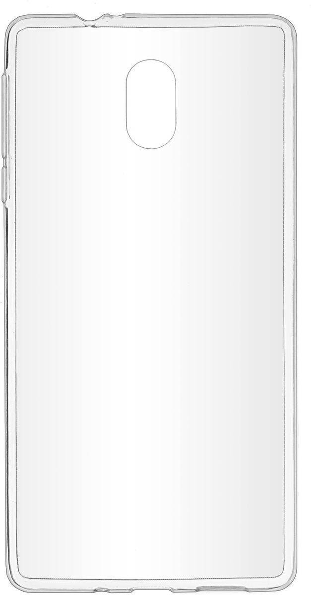 Skinbox Slim Silicone чехол-накладка для Nokia 3, Transparent remax protective silicone back case w screen protector film for nokia lumia 820 translucent white