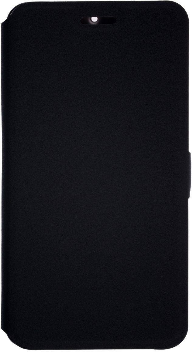 Prime Book чехол-книжка для Nokia 6, Black2000000138176Чехол надежно защищает ваш смартфон от внешних воздействий, грязи, пыли, брызг. Он также поможет при ударах и падениях, не позволив образоваться на корпусе царапинам и потертостям. Чехол обеспечивает свободный доступ ко всем функциональным кнопкам смартфона и камере.