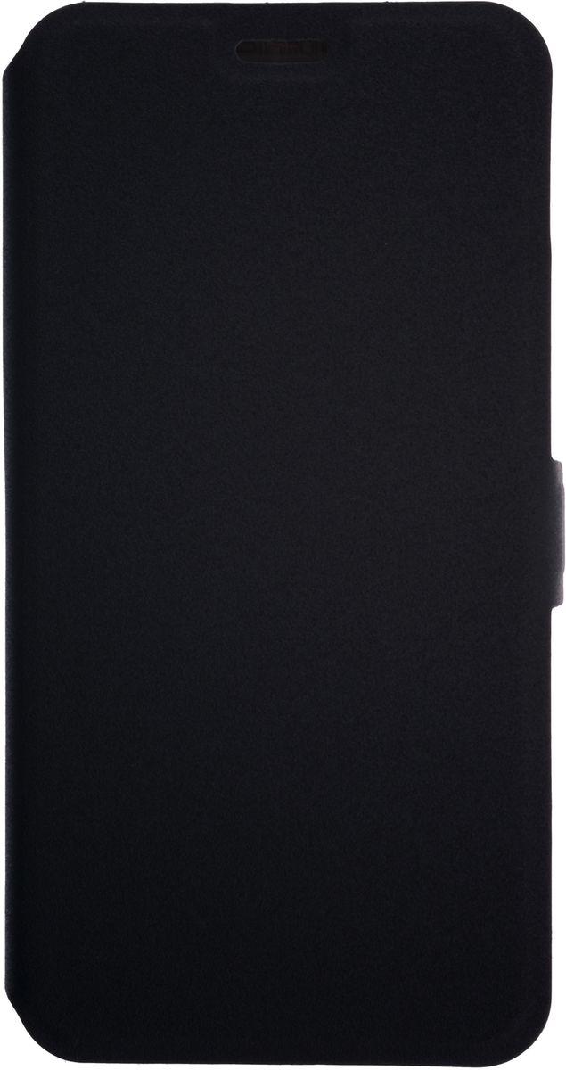 Prime Book чехол-книжка для ZTE Blade A601, Black2000000134116Чехол Prime Book для ZTE Blade A601 выполнен из высококачественного поликарбоната и экокожи. Он обеспечивает надежную защиту корпуса и экрана смартфона и надолго сохраняет его привлекательный внешний вид. Чехол также обеспечивает свободный доступ ко всем разъемам и клавишам устройства.