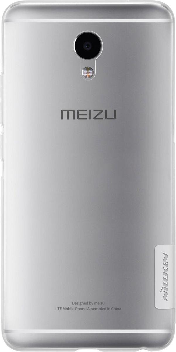 Nillkin Nature TPU Case чехол-накладка для Meizu M5 Note, White2000000124070Чехол надежно защищает ваш смартфон от внешних воздействий, грязи, пыли, брызг. Он также поможет при ударах и падениях, не позволив образоваться на корпусе царапинам и потертостям. Чехол обеспечивает свободный доступ ко всем функциональным кнопкам смартфона и камере.