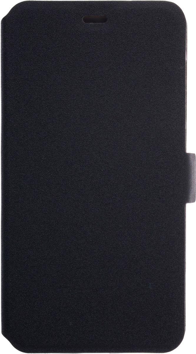 Prime Book чехол-книжка для Xiaomi RedMi 4A, Black2000000131887Чехол надежно защищает ваш смартфон от внешних воздействий, грязи, пыли, брызг. Он также поможет при ударах и падениях, не позволив образоваться на корпусе царапинам и потертостям. Чехол обеспечивает свободный доступ ко всем функциональным кнопкам смартфона и камере.
