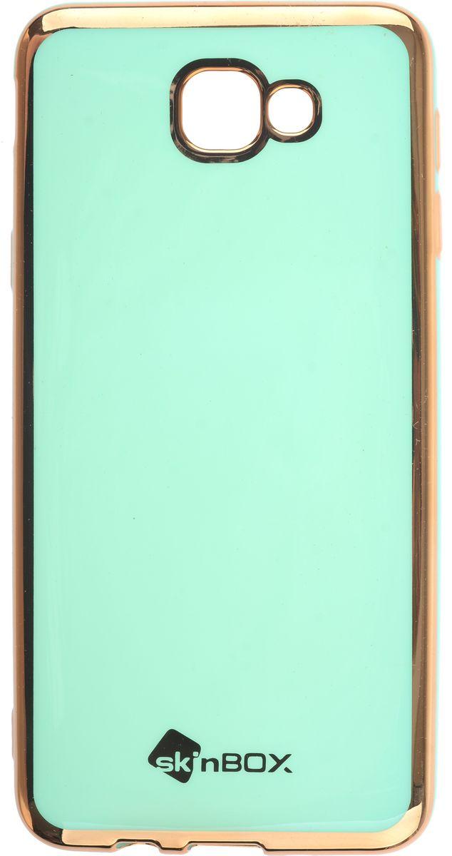 Skinbox силиконовая чехол-накладка для Samsung Galaxy J5 Prime/On5 (2016), Mint