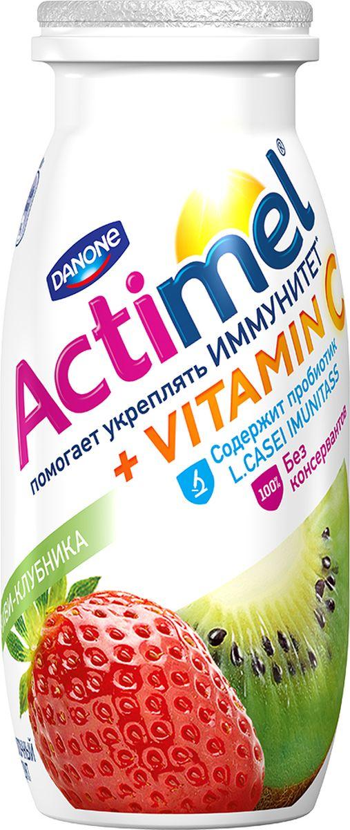 Актимель Продукт кисломолочный,Киви клубника 2,5%, 6 шт по 100 г82408Напиток Actimel Киви-клубника - это уникальный кисломолочный продукт с ярким вкусом, рекомендуется употреблять ежедневно на завтрак в профилактических целях.