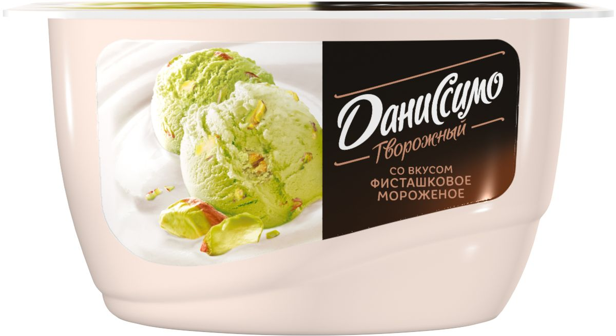 где купить Даниссимо Продукт творожный Фисташковое мороженое 6,5%, 130 г по лучшей цене
