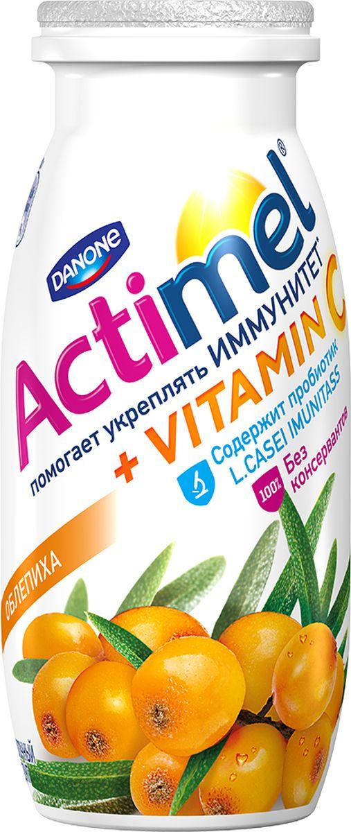 Актимель Продукт кисломолочный, Облепиха 2,5%, 6 шт по 100 г113662Напиток Actimel Облепиха 2.5% - это уникальный кисломолочный продукт с приятным ягодным вкусом, в котором помимо пробиотиков содержатся особые лактобактерии L.Casei Imunitass и витамин C, повышающие иммунитет.