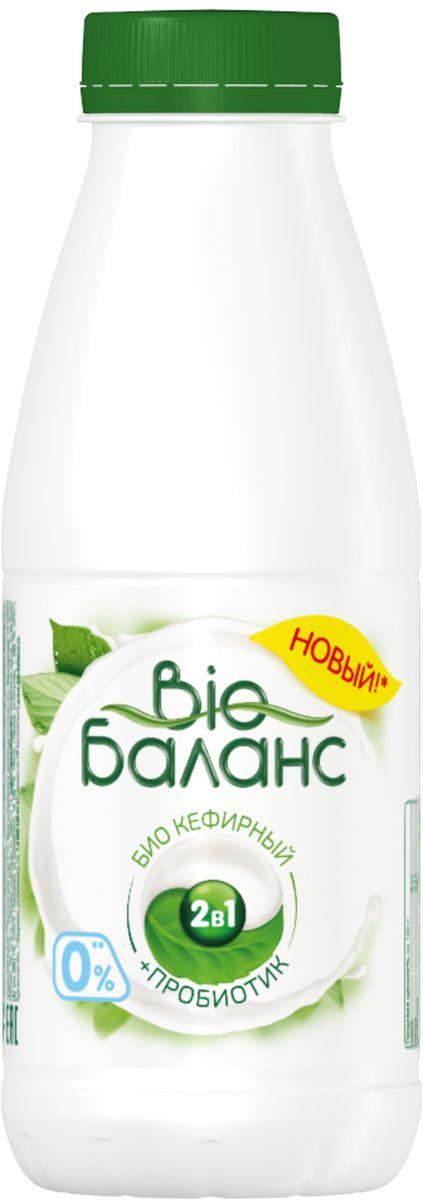 Био-Баланс Биопродукт кисломолочный кефирный, обогащенный нежирный, 430 г активиа биопродукт кефирный обогащенный 1% 450 г