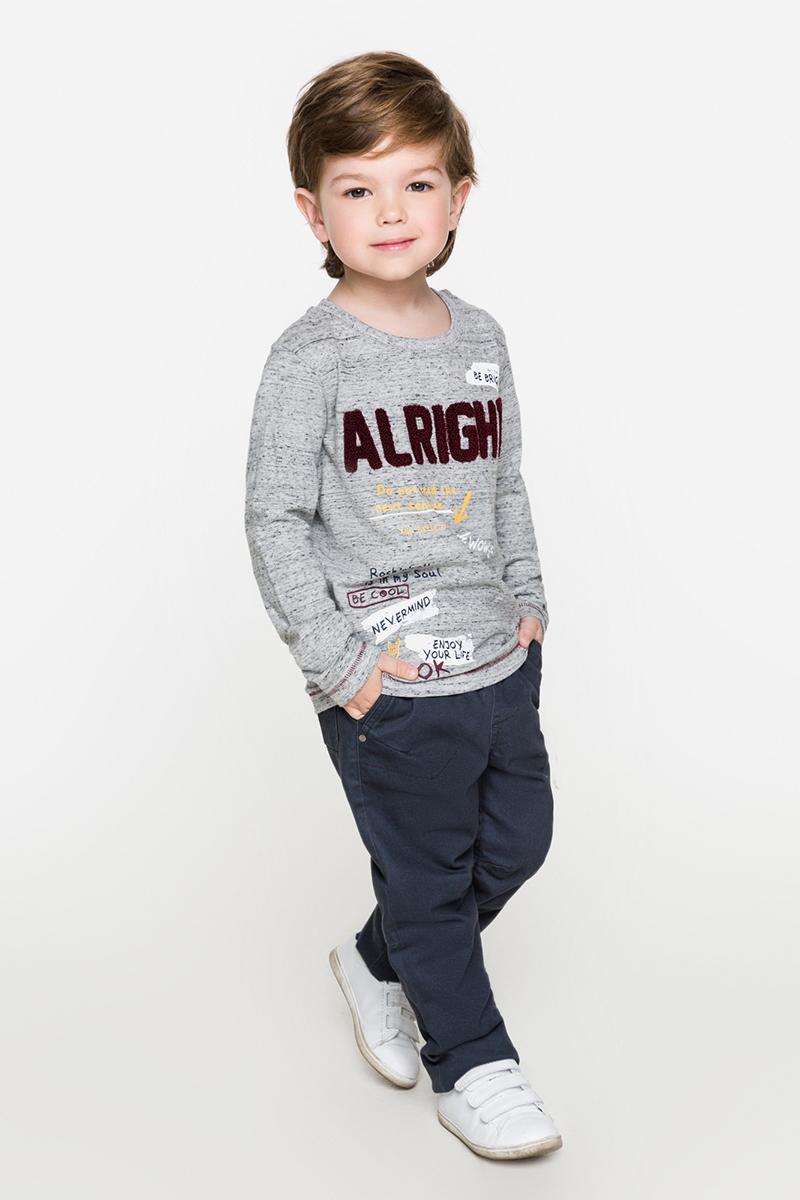 Джемпер для мальчиков Acoola Toyota, цвет: светло-серый. 20120100091. Размер 12220120100091