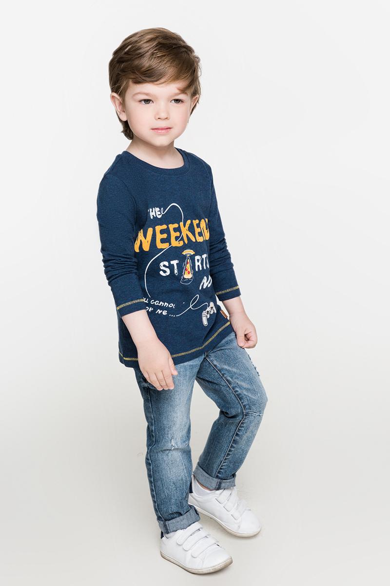 Джемпер для мальчиков Acoola Toyota, цвет: синий. 20120100091. Размер 9820120100091