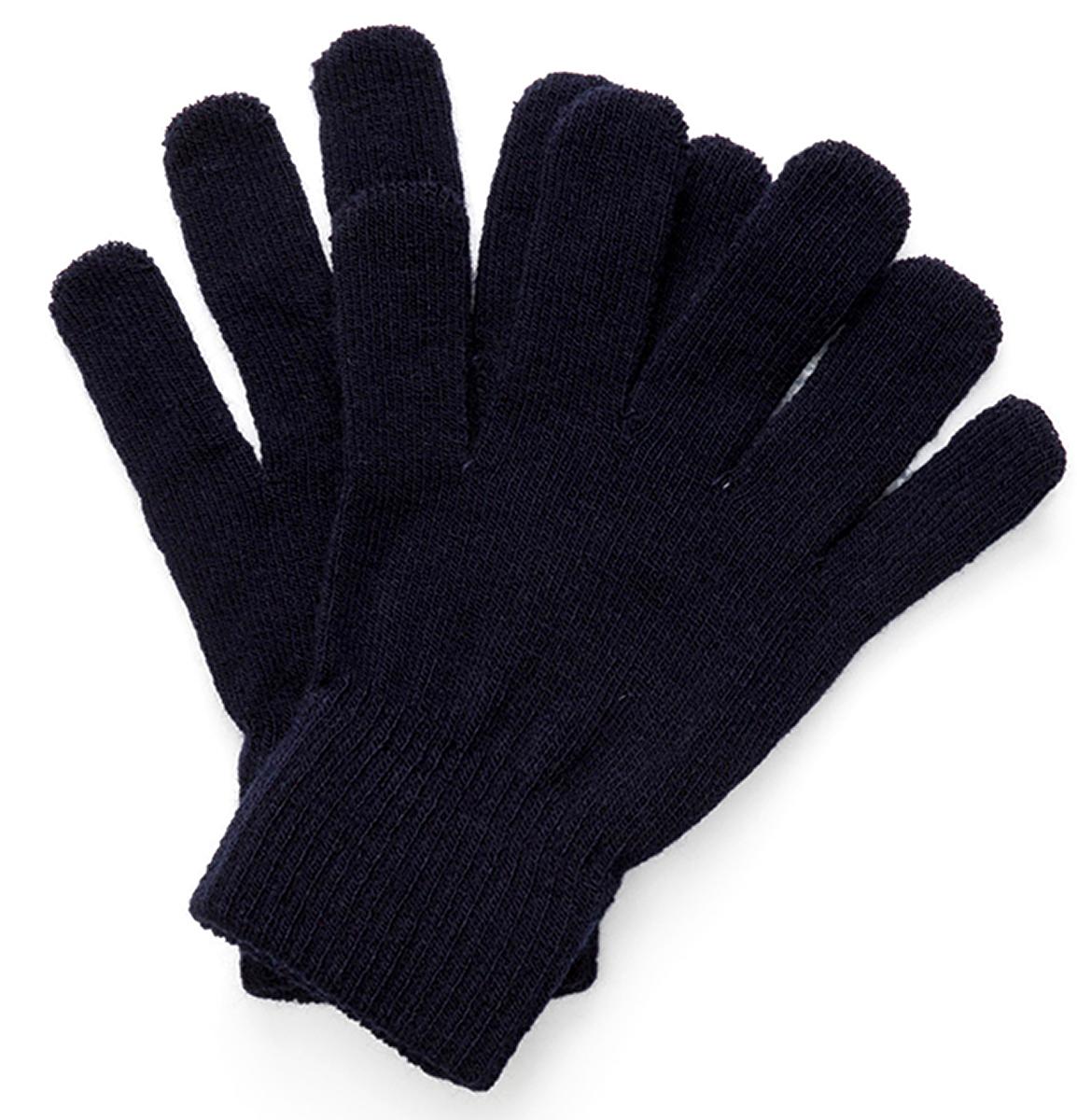 Перчатки для мальчиков Acoola Kamu, цвет: темно-синий. 20136420009. Размер L (10)20136420009