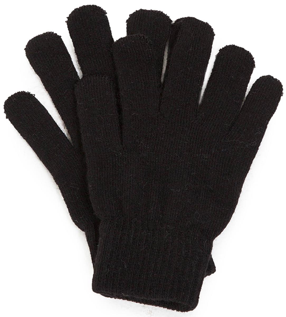 Перчатки для мальчика Acoola Zoma, цвет: черный. 20136420008. Размер M (8)20136420008Вязаные перчатки от Acoola выполнены из натуральной акриловой пряжи. Такие перчатки согреют руки вашего ребенка в холодную погоду.