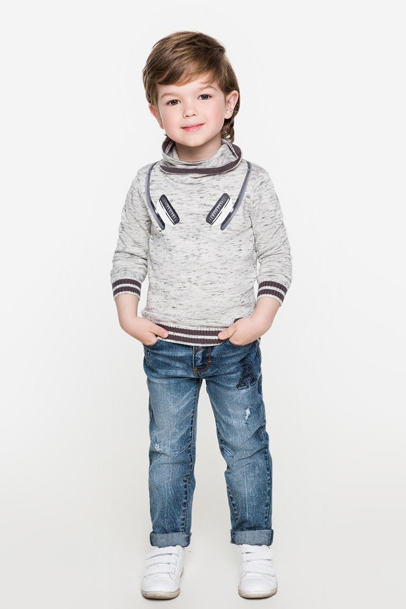 Свитер для мальчиков Acoola Lexus, цвет: серый. 20120320020. Размер 9220120320020