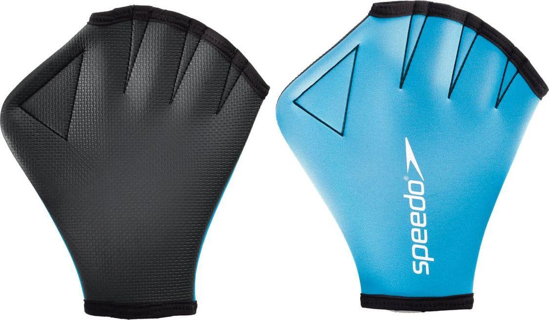 Перчатки для аквааэробики Speedo Aqua Glove, цвет: голубой. Размер L8-069190309Разработаны для усиления сопротивления воде и укреплению мышц. Небольшое воздействие на верхнюю часть тела сводит к минимуму нагрузку на суставы.