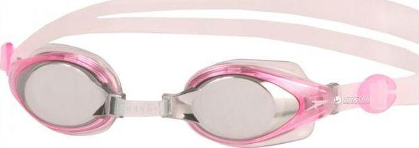 Очки для плавания Speedo Mariner Mirror Junior, цвет: розовый, прозрачный8-093011342Многофункциональные детские очки для плавания и отдыха. Подстраиваемая носовая перегородка для разных типов лица. Раздельный двойной ремешок для надежной фиксации. На поверхность линз нанесено несмываемое антизапотевающее покрытие Antifog. Защищают детские глаза от солнечных лучей, благодаря чему идеально подходят для открытой воды. Линзы с зеркальным покрытием