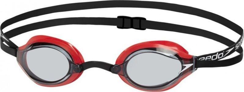 Очки для плавания Speedo Fastskin Speedsocket, цвет: красный, серый8-10896B572Классическая модель стартовых очков для плавания Speedsocket 2 в обновленном дизайне.Низкий профиль и отличный периферический обзор делает Fastskin Speedsocket 2 идеальными для использования во время соревнований. Двойной ремешок позволяет надежно зафиксировать очки для плавания, а сменные носовые перегородки способствуют оптимальной настройке Speedsocket 2
