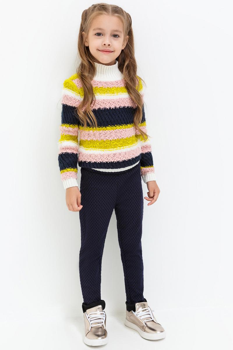 Брюки для девочек Acoola Nyx, цвет: темно-синий. 20220160141. Размер 9820220160141