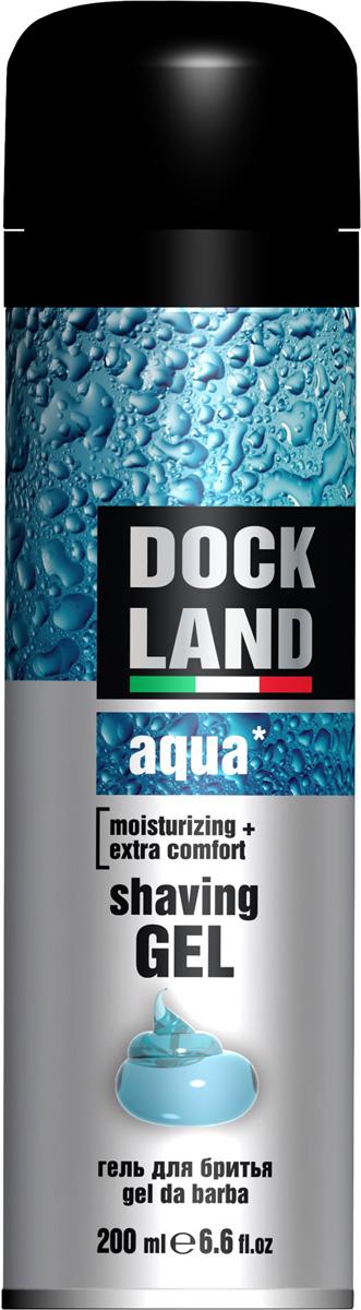 Dockland Гель для бритья Aqua, 200 млУТ000047995Классическое средство для бритья на каждый день. Обеспечивает специальный уход за кожей во время бритья.