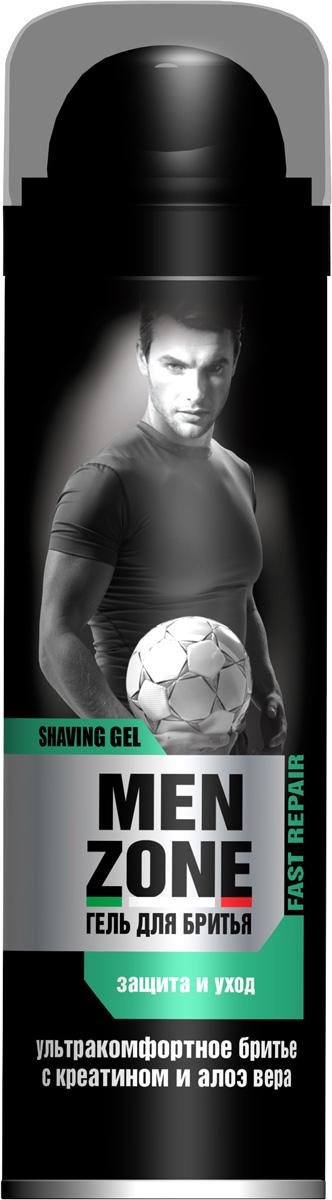 Menzone Гель для бритья Fast Repair, 200 млУТ000056903Классическое средство для бритья на каждый день. Обеспечивает специальный уход за кожей во время бритья.
