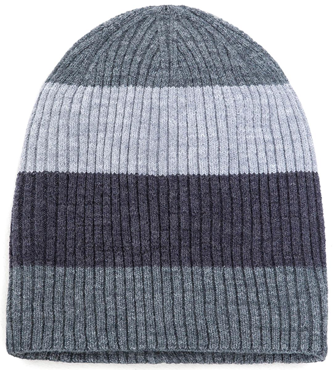 Шапка для мальчика Acoola Rello, цвет: серый. 20136400038. Размер S (50/52)20136400038Детская шапка от Acoola выполнена из эластичной акриловой пряжи. Такая шапка согреет вашего ребенка в холодное время года.