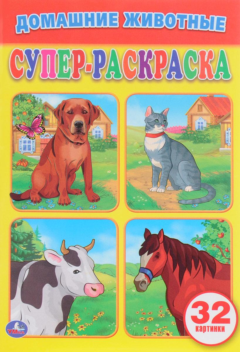 Домашние Животные. Супер-Раскраска