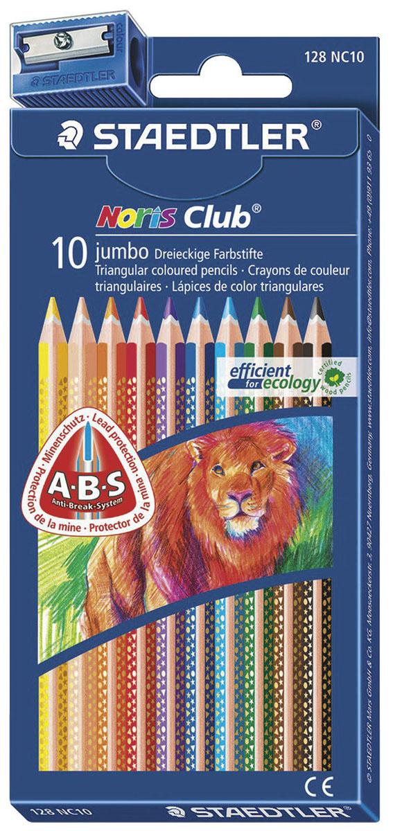 Staedtler Набор цветных карандашей Noris Club 127 10 цветов -  Карандаши