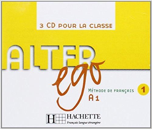 Alter Ego 1 CD audio classe худи print bar alter ego