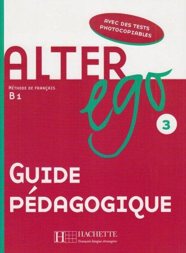 Alter Ego: Niveau 3: Guide pedagogique худи print bar alter ego