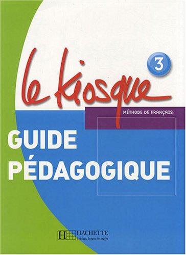 Le Kiosque 3 Guide pedagogique le rouge et le noire