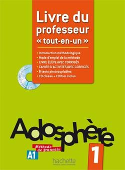 Adosphere: Livre du Professeur 1 echo b1 1 methode de francais livre du professeur