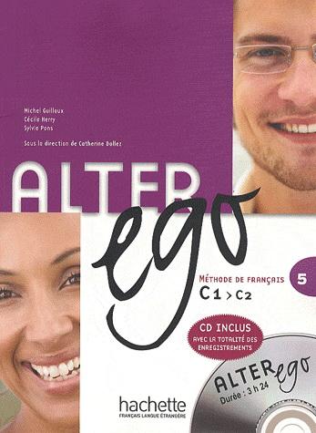 Alter Ego 5 Livre de l'eleve + CD-MP3 худи print bar alter ego