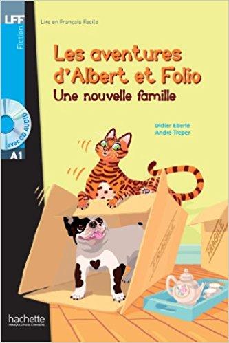 Albert Et Folio: Une Nouvelle Famille + CD Audio MP3 albert et folio halte aux voleurs cd audio mp3