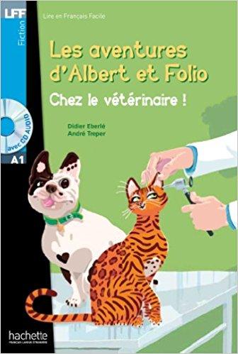 Albert Et Folio - Chez Le Veterinaire + CD Audio MP3 chez elle послеродовый в москве