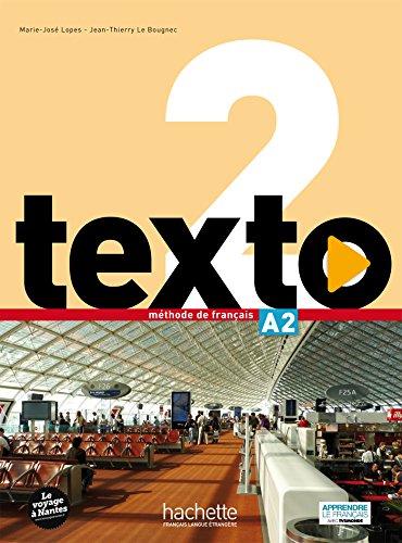 Texto: Livre de l'eleve A2 (+ DVD-Rom + manuel numerique eleve) agenda 3 b1 2 livre de l eleve dvd rom