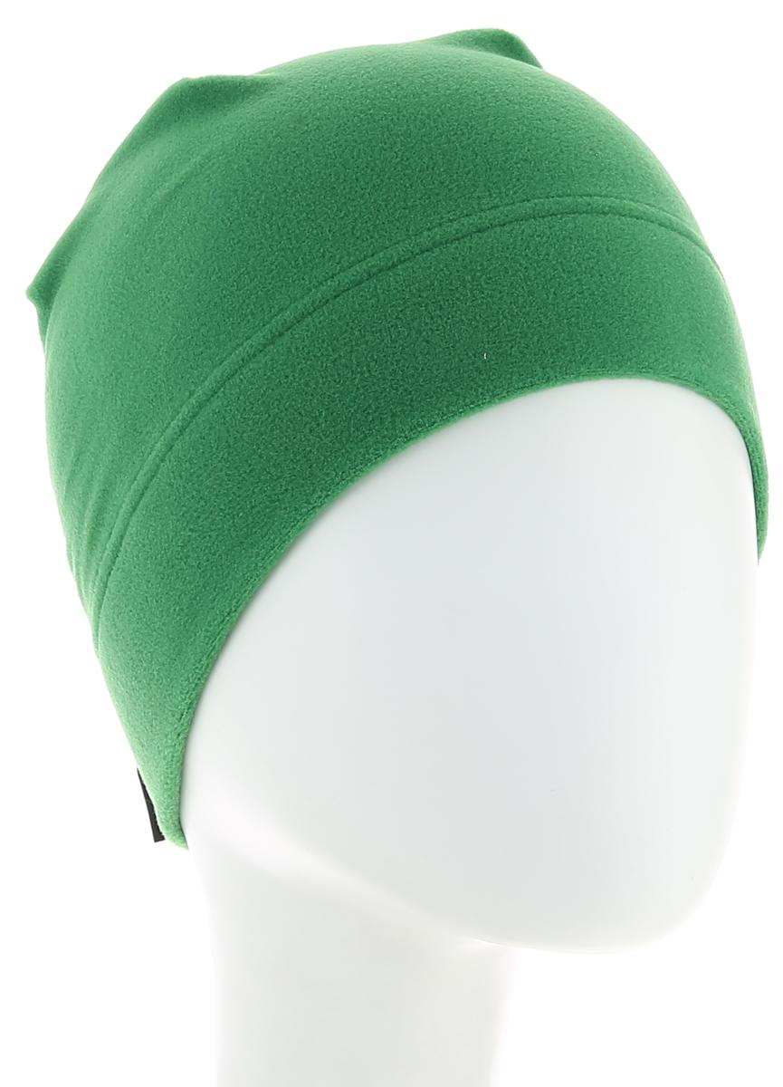 Шапка Jack Wolfskin Real Stuff Cap, цвет: зеленый. 19590-4082. Размер универсальный19590-4082Очень легкая, дышащая и компактная круглая шапочка Jack Wolfskin Real Stuff изготовлена из микрофлиса.Шапка Real Stuff - одна из тех вещей, которые всегда хочется иметь с собой в промозглую осеннюю погоду.Эта простая круглая шапочка выполнена из мягкого микрофлиса Tecnopile Micro, который обладает свойством быстро впитывать влагу и отводить ее от кожи. Когда вы прогуливаетесь прохладным вечером, вы сразу чувствуете разницу.Эта классная маленькая шапочка проста в уходе, быстро сохнет, и помещается в любой карман.