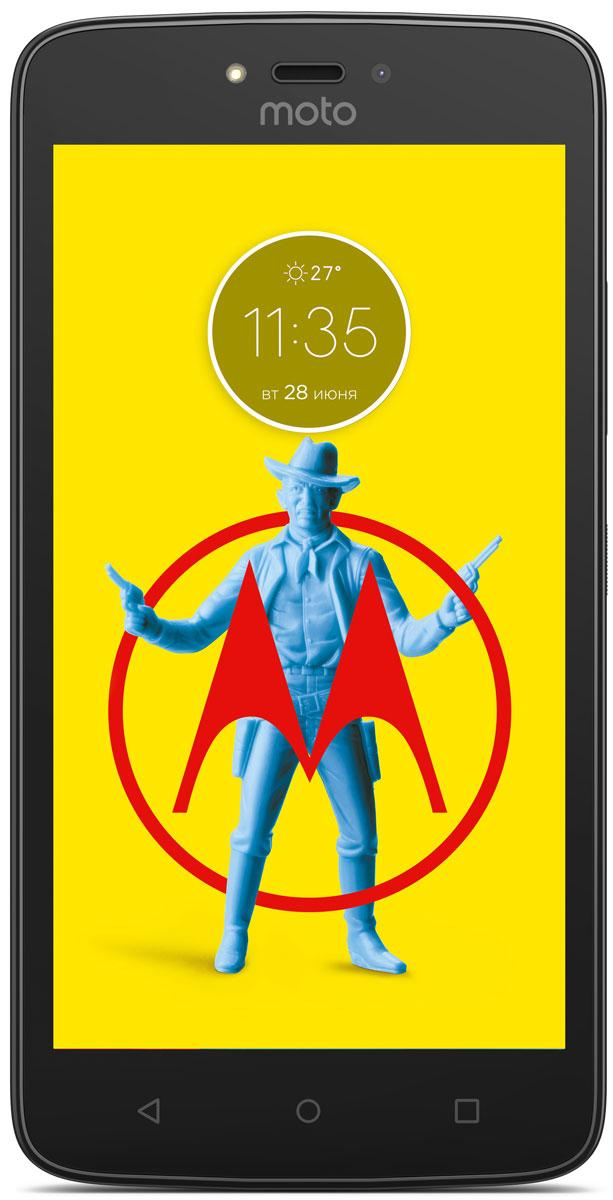 Motorola Moto C, Metallic Cherry (XT1754)PA6L0053RUMotorola Moto C - современный смартфон, который получил мощный четырёхъядерный процессор с частотой 1,1 ГГц и качественный экран с диагональю 5.Устройство обладает двумя камерами с разрешением 5 и 2 Мпикс. Обе снабжены яркими LED-вспышками и светосильными объективами, которые делают фотографии чёткими и контрастными независимо от уровня освещённости. Они могут вести съёмку в режиме HDR, улучшающем цветовую насыщенность кадра, и автоматически повышать качество портретов.Смартфон совместим с высокоскоростными мобильными сетями 4G. Он снабжён модулем GPS, предоставляющим доступ к навигационным сервисам, и адаптером Bluetooth со сниженным энергопотреблением, отлично подходящим для работы со спортивными гаджетами.Смартфон сертифицирован EAC и имеет русифицированный интерфейс меню и Руководство пользователя.