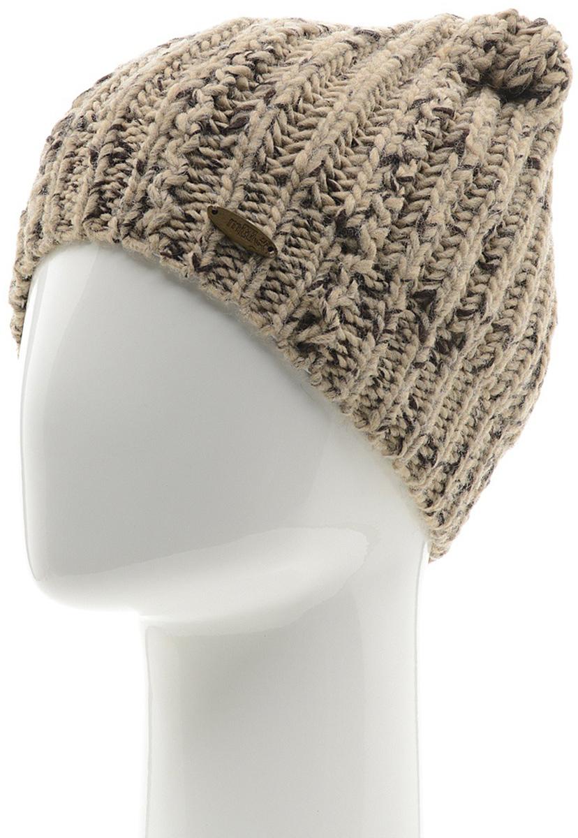 Шапка женская Marhatter, цвет: бежевый. MWH7082/2. Размер 56/58MWH7082/2Модная шапка кошка в стиле Yeti. Модель отлично подойдет современным модницам, которые хотят проявить свою индивидуальность.