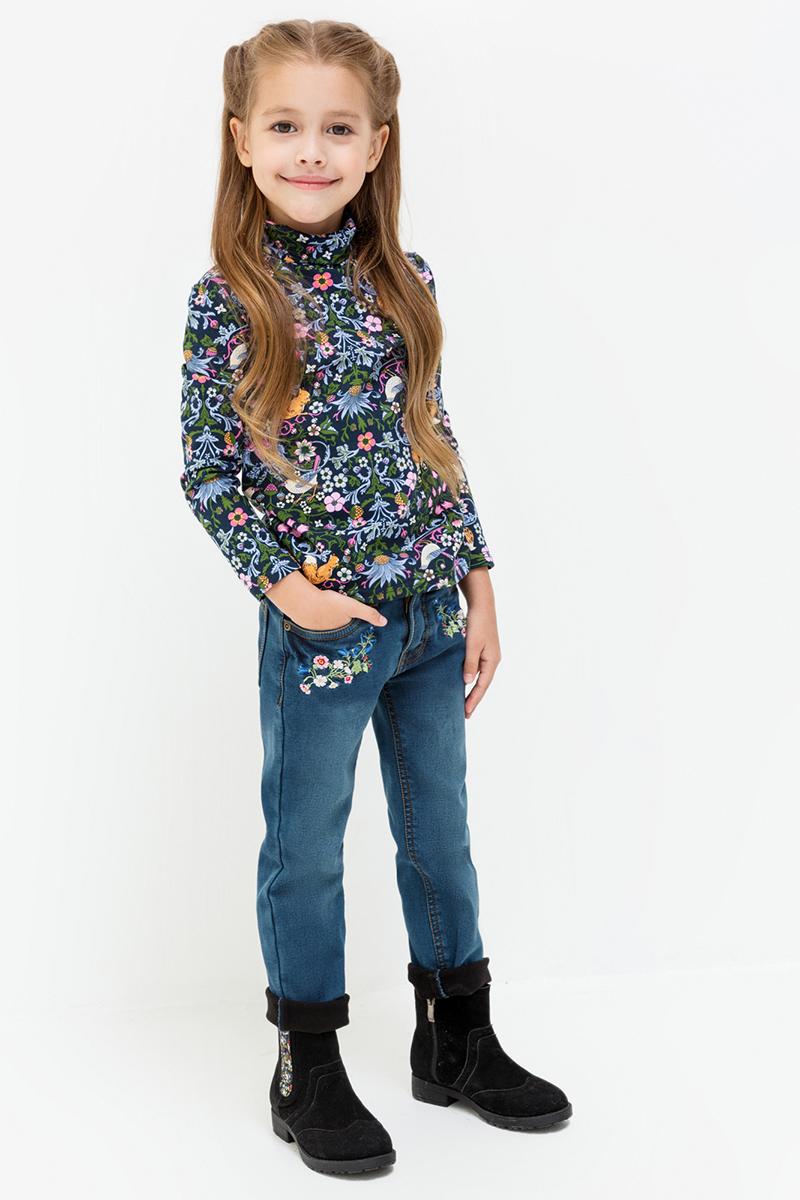 Джемпер для девочек Acoola Loreal, цвет: мультиколор. 20220100118. Размер 10420220100118