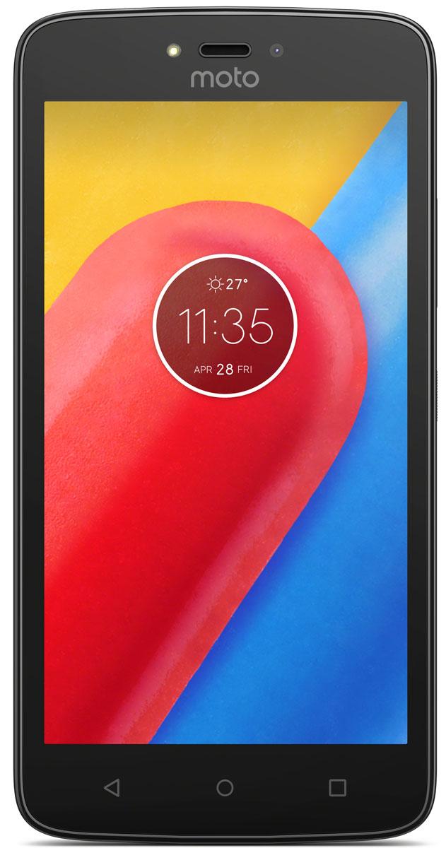 Motorola Moto C, Starry Black (XT1754)PA6L0083RUMotorola Moto C - современный смартфон, который получил мощный четырёхъядерный процессор с частотой 1,1 ГГц и качественный экран с диагональю 5.Устройство обладает двумя камерами с разрешением 5 и 2 Мпикс. Обе снабжены яркими LED-вспышками и светосильными объективами, которые делают фотографии чёткими и контрастными независимо от уровня освещённости. Они могут вести съёмку в режиме HDR, улучшающем цветовую насыщенность кадра, и автоматически повышать качество портретов.Смартфон совместим с высокоскоростными мобильными сетями 4G. Он снабжён модулем GPS, предоставляющим доступ к навигационным сервисам, и адаптером Bluetooth со сниженным энергопотреблением, отлично подходящим для работы со спортивными гаджетами.Смартфон сертифицирован EAC и имеет русифицированный интерфейс меню и Руководство пользователя.