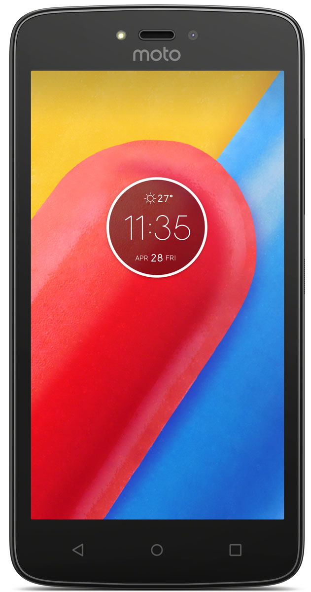 Motorola Moto C, Starry Black (XT1754)