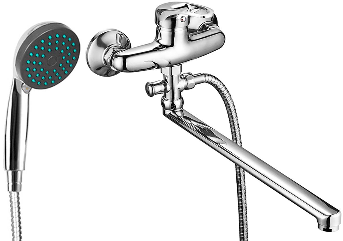 Смеситель для ванны Fauzt, с L-образным изливом. ИС.240134ИС.240134Смеситель для ванны Fauzt изготовлен из высококачественного силумина. Инновационные технологии литья и обработки силумина, а также увеличенная толщина стенок смесителя обеспечивают его стойкость к перепадам давления и температур.Покрытие полностью соответствует европейским стандартам качества, обеспечивает его стойкость и зеркальный блеск в течение всего срока службы изделия.Сместитель имеет длинный излив 35 см. В комплект входят: Керамический картридж 40 ммДушевая лейка и шланг. Дивертор.