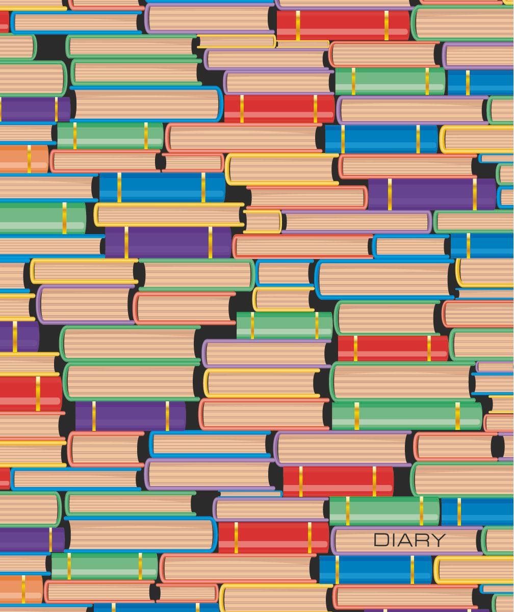 Канц-Эксмо Ежедневник Орнамент Коллекция книг недатированный 160 листов формат А5 ежедневник от романа фада а5