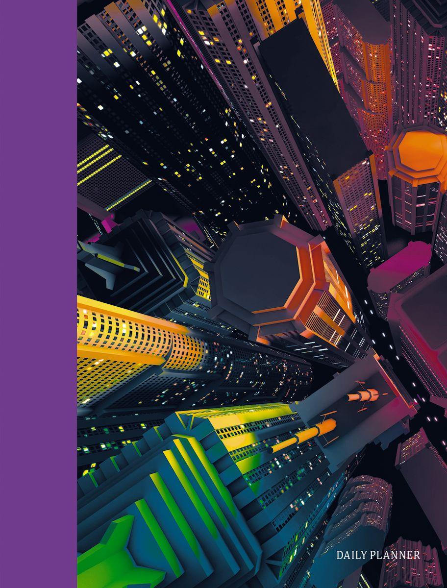 Канц-Эксмо Ежедневник Городской стиль Небоскребы недатированный 160 листов формат А6 канц эксмо ежедневник графика орхидеи недатированный 160 листов формат a5