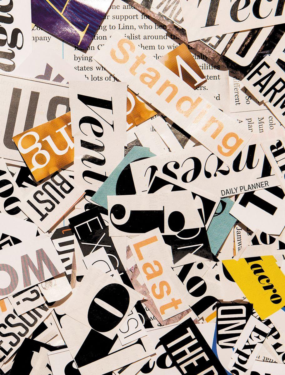 Канц-Эксмо Ежедневник Орнамент Газетные заголовки недатированный 160 листов формат А6 канц эксмо ежедневник графика орхидеи недатированный 160 листов формат a5