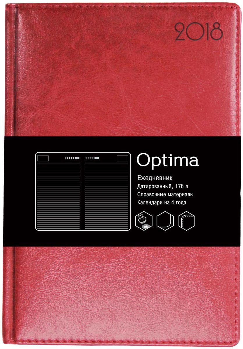 Канц-Эксмо Ежедневник Optima недатированный 136 листов цвет бордовый формат А5ЕКО51813601Недатированный ежедневник Канц-Эксмо Optima формата А5 великолепно подойдет для записей и заметок. Ежедневник имеет сшитый внутренний блок из белой офсетной бумаги плотностью 60гр/м2 с закругленными углами без разметки. Обложка выполнена из высококачественной искусственной кожи, уплотненной поролоном, и дополнена цветными форзацами. Изделие дополнено справочными материалами и календарями на 4 года.