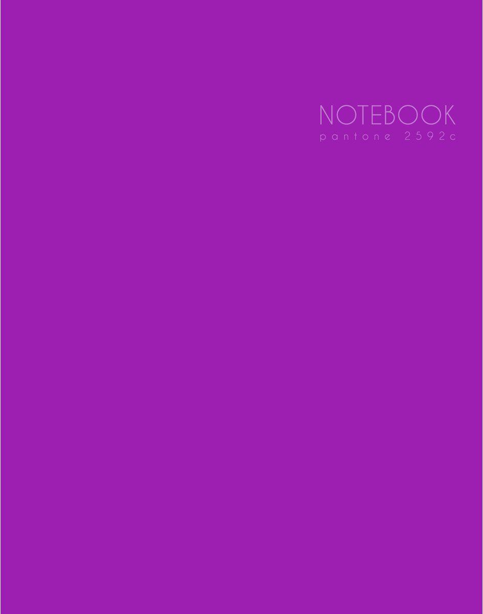 Канц-Эксмо Блокнот Новая палитра 96 листов без разметки формат А5 ЕТИЛ59661ЕТИЛ59661Книгa для записей (евроТетрадь) А5 (167х210), 96л., интегральный переплет, матовая ламинация, выборочный лак, пантон. печать, форзацы- белые, бумага 60гр/м2 Новая палитра. Сказочно-лиловый А5 96л.