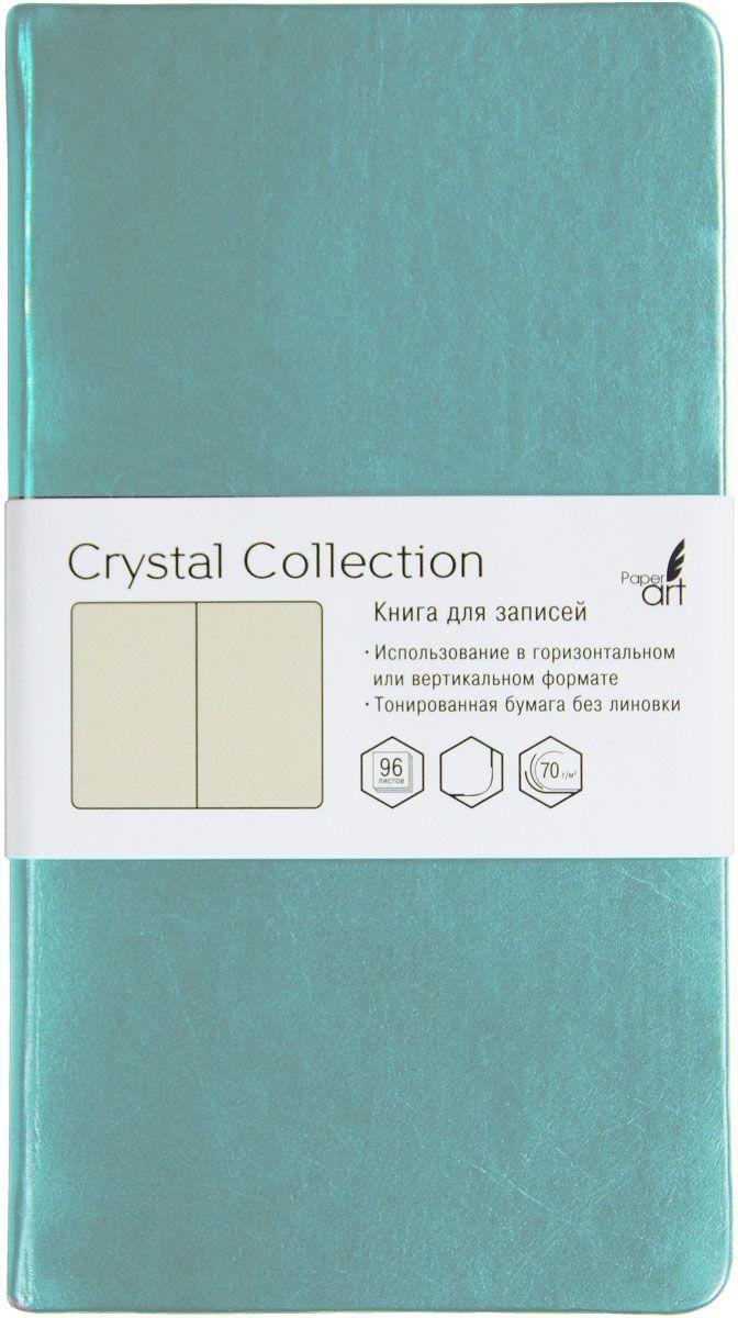 Канц-Эксмо Блокнот Crystal Collection 96 листов без разметки КЗКК962221КЗКК962221Книгa для записей (100х181), 96л (Crystal Collection). Металлизиров. искуств. кожа. тонированные бумага без линовки., бумага 70гр/м Crystal Collection. Голубой лед (100х181), 96л.