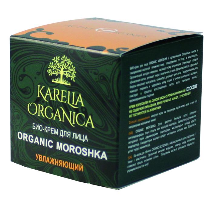 Karelia Organica Био-Крем для лица Organic MOROSHKA Увлажняющий, 50 мл420106Био-крем для лица Organic Moroshka с органическим березовым соком и гиалуроновой кислотой увлажняет кожу, поддерживает ее тонус и эластичность. Органический экстракт морошки насыщает кожу витаминами, стимулирует процесс обновления клеток, улучшает тонус и эластичность кожи. Органический сок карельской березы наполняет кожу влагой, тонизирует, улучшает цвет лица. Гиалуроновая кислота помогает сохранять и удерживать влагу в коже в течение длительного времени, участвует в процессе восстановления клеток кожи, замедляет процесс преждевременного старения. Масла Ши и подсолнечника - питают и смягчают кожу, снимает раздражение и залечивают трещинки и ранки, защищают дерму от воспалений делают кожу более мягкой и упругой. Витамин Е - витамин молодости с мощным антиоксидантным эффектом. Кроме того, он смягчает кожу, регулируют обмен веществ в коже - способствует обновлении клеток, за счет антиоксидантных свойств повышают устойчивость кожи к развитию возрастных изменений. Комплекс ягод (брусника, ежевика, клюква, малина) - насыщает витаминами, микроэлементами, органическими кислотами, обеспечивает антиоксидантный эффект - помогает клеткам противостоять старению и улучшает тонус кожи, способствует отшелушиванию мертвых клеток с поверхности кожи. Крем изготовлен на основе базы сертифицированной ECOCERT. Не содержит парабенов, минеральных масел, синтетических красителей