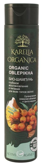 Karelia Organica Био шампунь Organic OBLEPIKHA Глубокое восстановление и питание, 310 мл4607086569603Био-шампунь Organic Oblepikha создан на основе экстрактов карельских ягод специально для волос, нуждающихся в интенсивном уходе. Органическая северная облепиха, богатая натуральными жирными кислотами, интенсивно питает волосы, придает им блеск и мягкость, восстанавливает сухие и ослабленные концы. Ягоды дикого можжевельника укрепляют корни волос, регулируют работу сальных желез. Сочная полярная клюква, богатая антиоксидантами, защищает волосы от разрушения, увлажняет. Особый компонент фито-кератин, полученный из растений и содержащий весь необходимый волосам комплекс аминокислот, глубоко проникает в структуру волос и питает их изнутри, обеспечивает прочность и упругость, придает здоровый блеск и сияние.