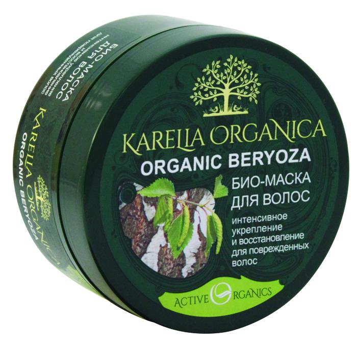 Karelia Organica Био-Маска Organic BERYOZA Интенсивное укрепление и восстановление, 220 мл420601Био-маска Organic Beryoza, благодаря уникальной комбинации ее натуральных активных компонентов, возвращает силу и блеск поврежденным волосам, восстанавливает и укрепляет по всей длине, делает волосы более плотными и эластичными, наполняет блеском и природной красотой. Органический сок карельской березы имеет богатый состав и обладает высокой биологической активностью. Он насыщает волосы витаминами и минералами, восстанавливает и укрепляет их структуру, увлажняет, защищает волосы от сухости и истончения, придает им невероятную мягкость и шелковистость. Гиалуроновая кислота глубоко увлажняет и питает волосы, уплотняет их структуру, возвращает эластичность, жизненную силу и блеск. Целительный настой диких карельских растений (корень аира болотного, листья березы, брусники, черники, цветы зверобоя, тимьян) стимулирует обменные процессы в коже головы, способствует укреплению волосяных луковиц, препятствует выпадению волос, ускоряют их рост. Масло ши придает волосам эластичность, блеск и силу, защищает, помогает решить проблему сухости и ломкости волос, восстанавливает секущиеся концы.