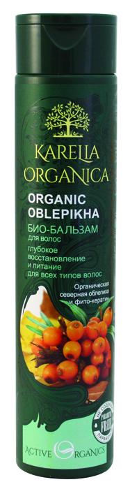 Karelia Organica Био бальзам Organic OBLEPIKHA Глубокое восстановление и питание, 310 мл420605Специальная формула био-бальзама «Organic Oblepikha» предназначена для глубокого восстановления ипитания волос. Органическая северная облепиха, богатая натуральными жирными кислотами, интенсивно питает волосы, придает имблеск имягкость, восстанавливает сухие иослабленные концы. Сок ягод можжевельника укрепляет корни волос, регулирует работу сальных желез. Сочная полярная клюква, богатая антиоксидантами, защищает волосы отразрушения, увлажняет. Особый компонент фито-кератин, полученный израстений исодержащий весь необходимый волосам комплекс аминокислот, глубоко проникает вструктуру волос ипитает ихизнутри, обеспечивает прочность иупругость, придает здоровый блеск исияние.