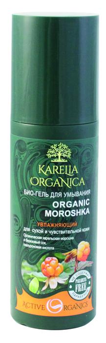 Karelia Organica Био-Гель для умывания Organic MOROSHKA Увлажняющий, 150 мл420704Мягкая формула био-геля Organic Moroshka деликатно очищает сухую и чувствительную кожу, способствует сохранению водного баланса, дарит ощущение комфорта. Органическая карельская морошка питает и насыщает кожу витаминами, повышает эластичность, придает тонус. Органический березовый сок прекрасно увлажняет кожу, стимулирует регенерацию тканей, является природным антиоксидантом. Гиалуроновая кислота помогает сохранять и удерживать влагу в коже в течение длительного времени, замедляет процесс преждевременного старения. Комплекс ягод (брусника, ежевика, клубника, клюква, малина, черника) - насыщает витаминами, микроэлементами, органическими кислотами, обеспечивает антиоксидантный эффект - помогает клеткам противостоять старению и улучшает тонус кожи, способствует отшелушиванию мертвых клеток с поверхности кожи. Не содержит парабенов, минеральных масел, синтетических красителей
